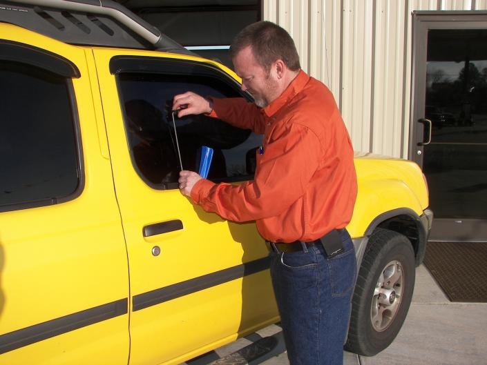 Did you get locked out of your vehicle? Curtis can help you get going with your day and quickly back into your car!